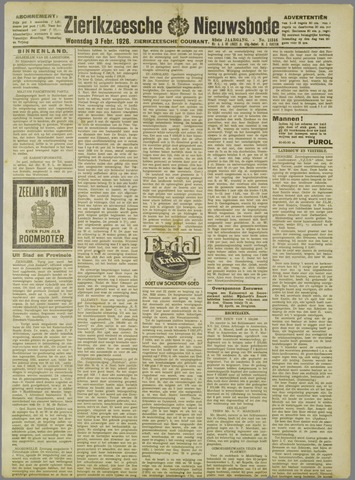 Zierikzeesche Nieuwsbode 1926-02-03