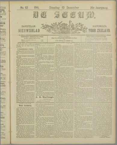 De Zeeuw. Christelijk-historisch nieuwsblad voor Zeeland 1911-12-12