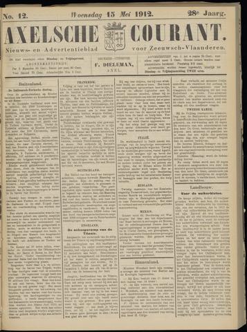 Axelsche Courant 1912-05-15