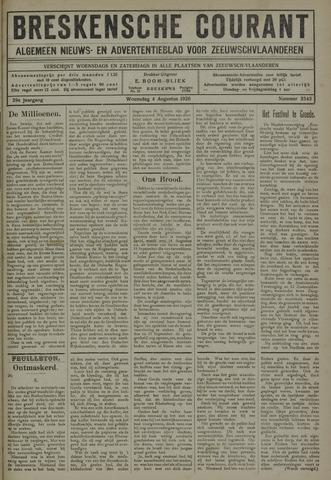 Breskensche Courant 1920-08-04