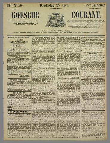 Goessche Courant 1881-04-28