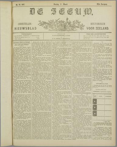 De Zeeuw. Christelijk-historisch nieuwsblad voor Zeeland 1897-03-09