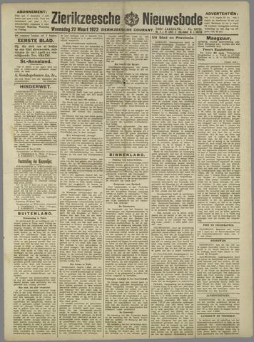 Zierikzeesche Nieuwsbode 1922-03-22