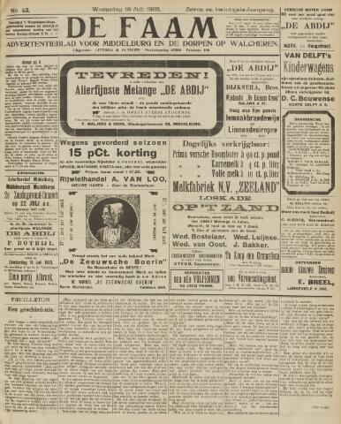 de Faam en de Faam/de Vlissinger 1923-07-18