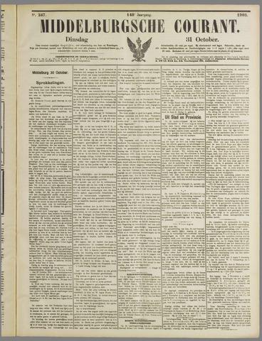 Middelburgsche Courant 1905-10-31