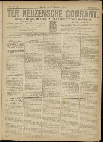Ter Neuzensche Courant. Algemeen Nieuws- en Advertentieblad voor Zeeuwsch-Vlaanderen / Neuzensche Courant ... (idem) / (Algemeen) nieuws en advertentieblad voor Zeeuwsch-Vlaanderen 1918-02-07