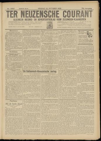 Ter Neuzensche Courant. Algemeen Nieuws- en Advertentieblad voor Zeeuwsch-Vlaanderen / Neuzensche Courant ... (idem) / (Algemeen) nieuws en advertentieblad voor Zeeuwsch-Vlaanderen 1935-10-25