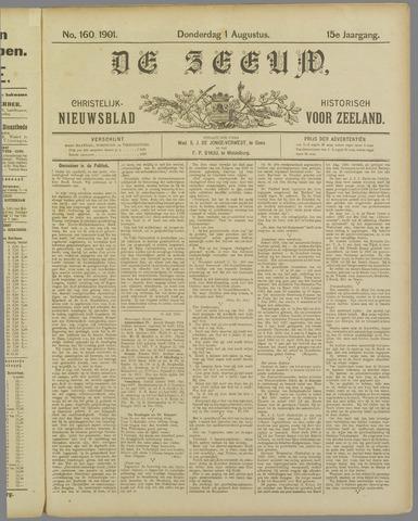 De Zeeuw. Christelijk-historisch nieuwsblad voor Zeeland 1901-08-01