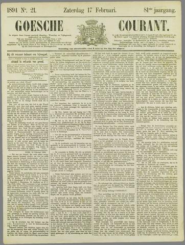 Goessche Courant 1894-02-17