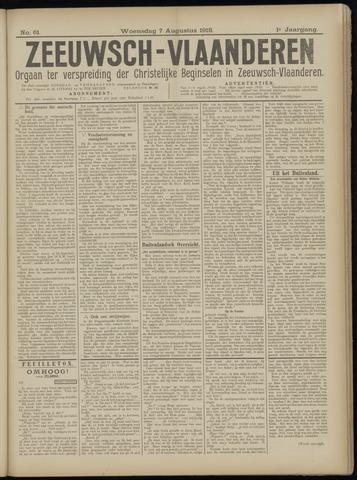 Luctor et Emergo. Antirevolutionair nieuws- en advertentieblad voor Zeeland / Zeeuwsch-Vlaanderen. Orgaan ter verspreiding van de christelijke beginselen in Zeeuwsch-Vlaanderen 1918-08-07