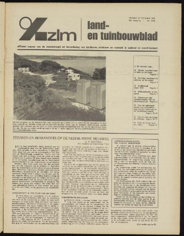 Zeeuwsch landbouwblad ... ZLM land- en tuinbouwblad 1972-02-25