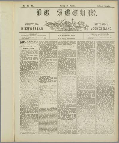 De Zeeuw. Christelijk-historisch nieuwsblad voor Zeeland 1898-12-20