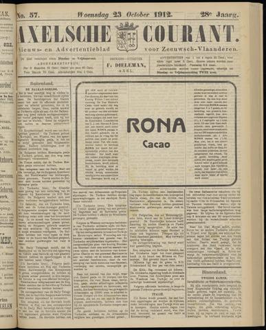 Axelsche Courant 1912-10-23