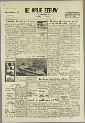 de Vrije Zeeuw 1963-11-18