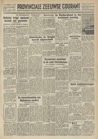 Provinciale Zeeuwse Courant 1948-08-06