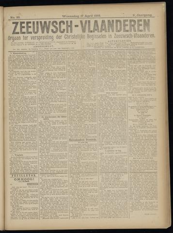 Luctor et Emergo. Antirevolutionair nieuws- en advertentieblad voor Zeeland / Zeeuwsch-Vlaanderen. Orgaan ter verspreiding van de christelijke beginselen in Zeeuwsch-Vlaanderen 1918-04-17