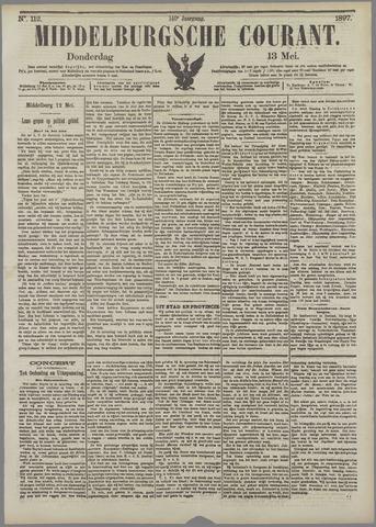 Middelburgsche Courant 1897-05-13