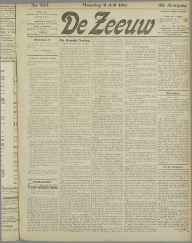 De Zeeuw. Christelijk-historisch nieuwsblad voor Zeeland 1917-07-09