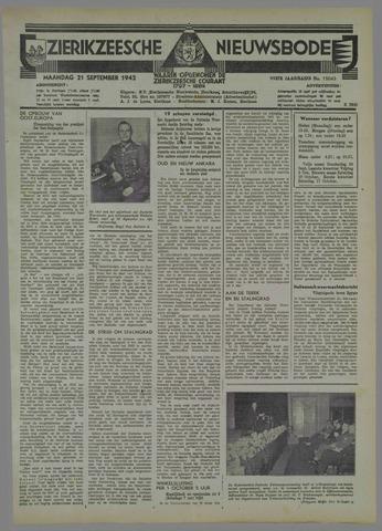 Zierikzeesche Nieuwsbode 1942-09-21