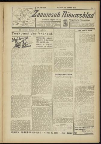 Zeeuwsch Nieuwsblad/Wegeling's Nieuwsblad 1935-03-22