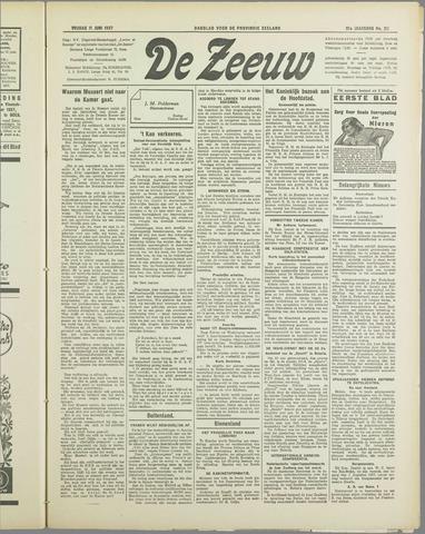 De Zeeuw. Christelijk-historisch nieuwsblad voor Zeeland 1937-06-11