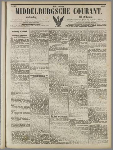 Middelburgsche Courant 1903-10-31