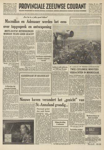 Provinciale Zeeuwse Courant 1959-11-20
