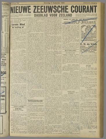 Nieuwe Zeeuwsche Courant 1920-09-11