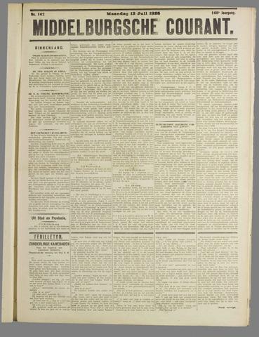 Middelburgsche Courant 1925-07-13