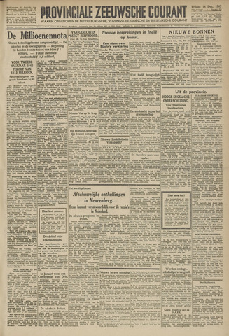 Provinciale Zeeuwse Courant 1945-12-14