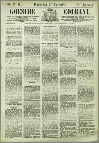 Goessche Courant 1906-09-27