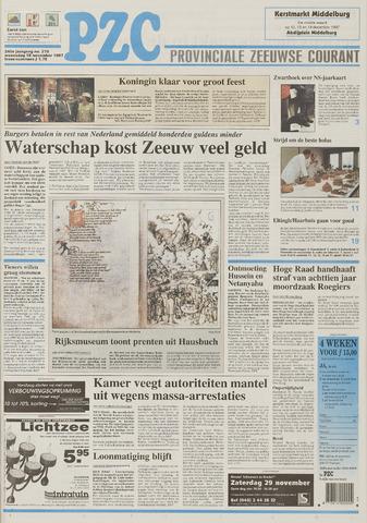 Provinciale Zeeuwse Courant 1997-11-19