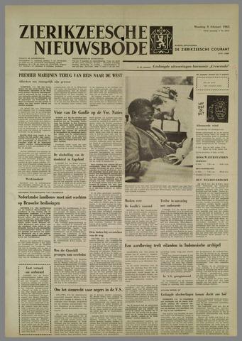Zierikzeesche Nieuwsbode 1965-02-08
