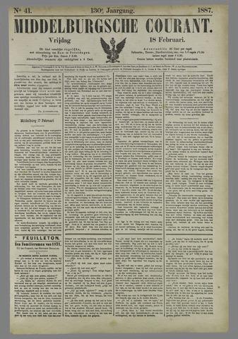 Middelburgsche Courant 1887-02-18