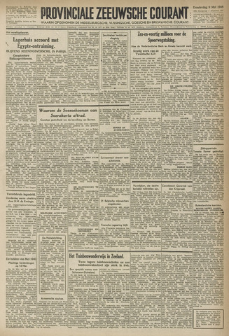 Provinciale Zeeuwse Courant 1946-05-09