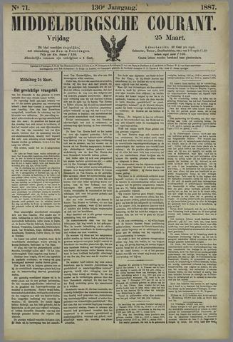 Middelburgsche Courant 1887-03-25