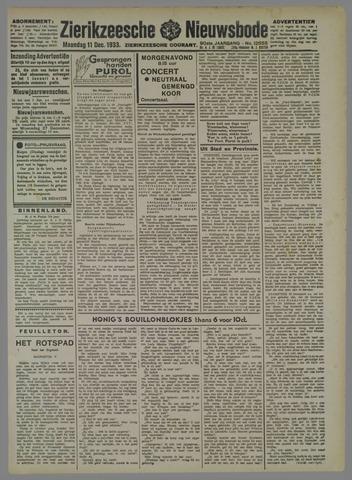 Zierikzeesche Nieuwsbode 1933-12-11
