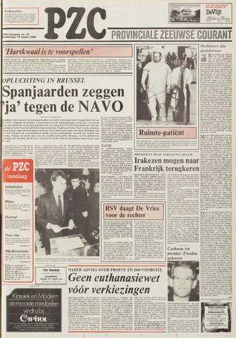 Provinciale Zeeuwse Courant 1986-03-13