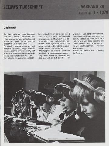 Zeeuws Tijdschrift 1978-01-01