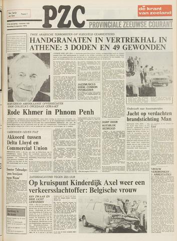 Provinciale Zeeuwse Courant 1973-08-06