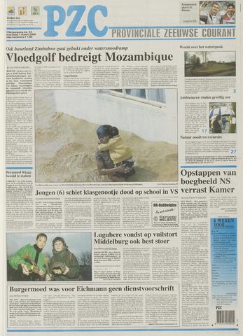 Provinciale Zeeuwse Courant 2000-03-01