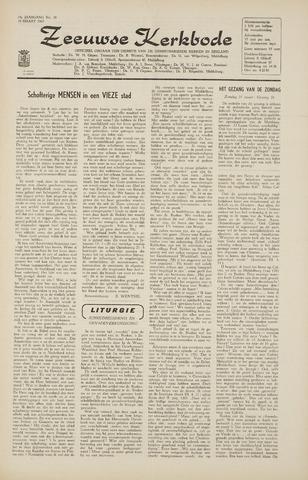 Zeeuwsche kerkbode, weekblad gewijd aan de belangen der gereformeerde kerken/ Zeeuwsch kerkblad 1965-03-19