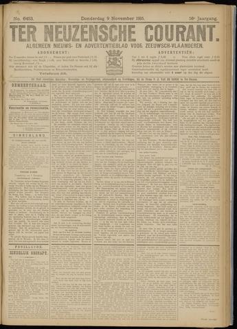 Ter Neuzensche Courant. Algemeen Nieuws- en Advertentieblad voor Zeeuwsch-Vlaanderen / Neuzensche Courant ... (idem) / (Algemeen) nieuws en advertentieblad voor Zeeuwsch-Vlaanderen 1916-11-09