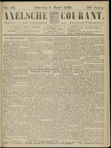 Axelsche Courant 1919-03-01