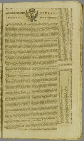 Middelburgsche Courant 1806-02-06