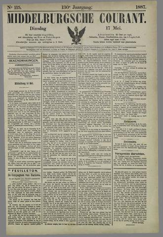 Middelburgsche Courant 1887-05-17
