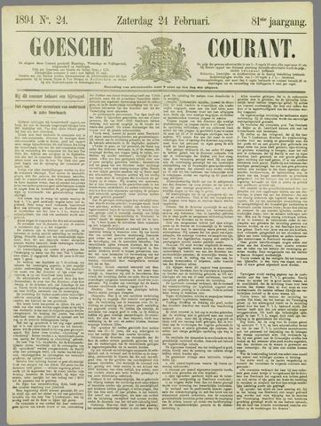 Goessche Courant 1894-02-24