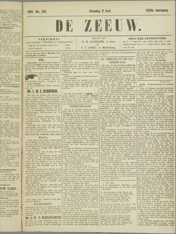De Zeeuw. Christelijk-historisch nieuwsblad voor Zeeland 1891-06-09
