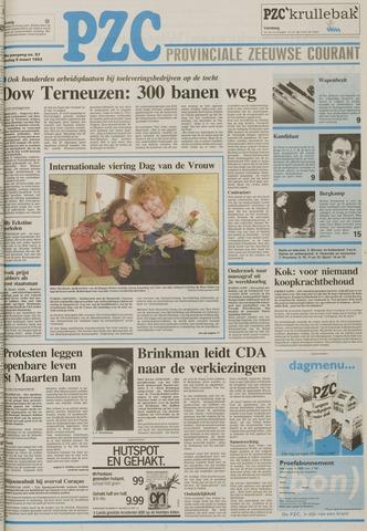 Provinciale Zeeuwse Courant 1993-03-09