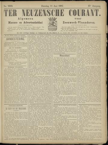 Ter Neuzensche Courant. Algemeen Nieuws- en Advertentieblad voor Zeeuwsch-Vlaanderen / Neuzensche Courant ... (idem) / (Algemeen) nieuws en advertentieblad voor Zeeuwsch-Vlaanderen 1887-06-11
